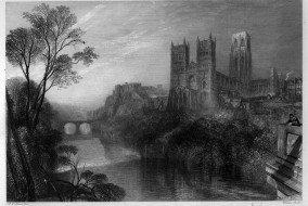 Durham Engraving by Wlliam Miller after Turner