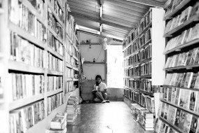 Girl in bookshop - Transformer18