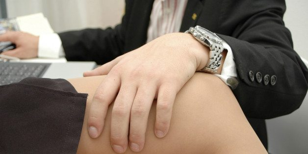 Symbolic for sexual harassment at work