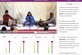 The 'Khyal: Music & Imagination' App