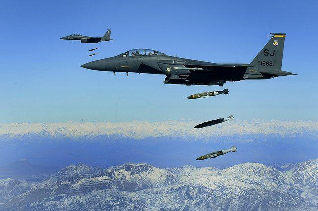 syria strikes