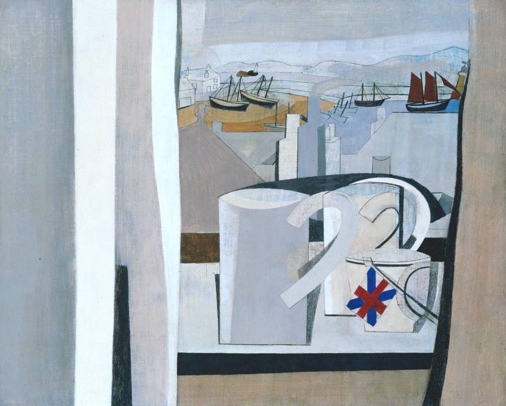 1943-45 (St Ives, Cornwall) 1943-5 by Ben Nicholson OM 1894-1982