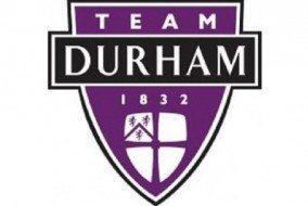 Team Durham's Crest Photograph: Team Durham